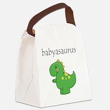 babyasaurus Canvas Lunch Bag
