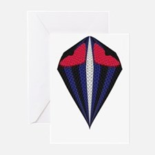 LEATHER PRIDE 2 HEARTS/MASTER Greeting Cards10PK