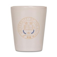 University of the Elite DJs Shot Glass