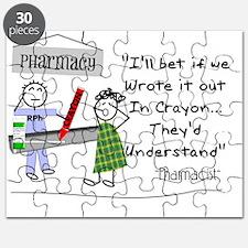 Funny Pharmacist. Puzzle
