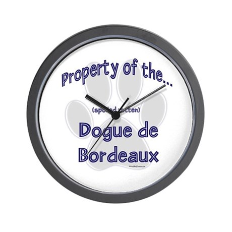 Dogue Property Wall Clock