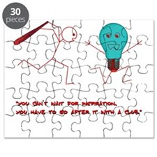 Club idea light bulb chase Puzzle