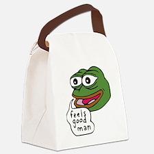 Feels Good Man Canvas Lunch Bag