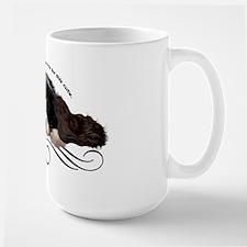 Cavalier Cute plain Large Mug