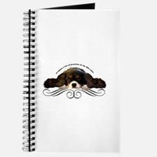 Cavalier Cute plain Journal