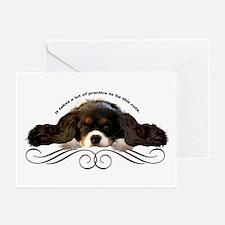 Cavalier Cute plain Greeting Cards (Pk of 10)