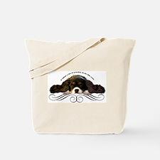 Cavalier Cute plain Tote Bag
