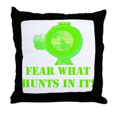 Art_Feat WHat Hunts In It! 2 Throw Pillow