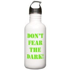 Art_Dont fear the dark Water Bottle