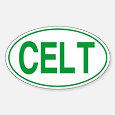 Celt Green for Black Decal