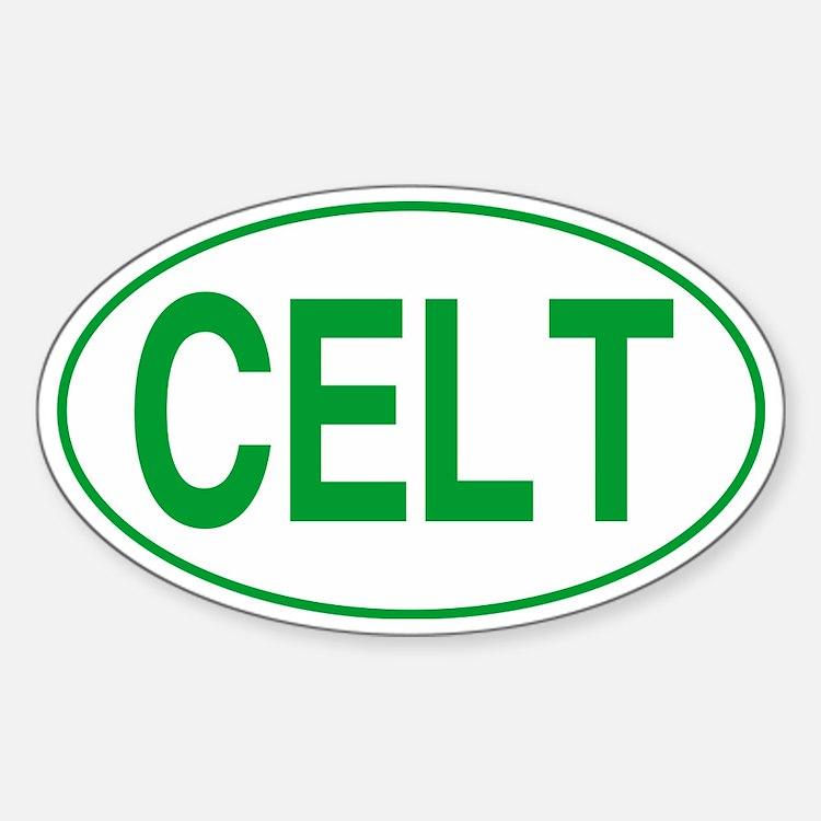 Celt Green for Black Decal