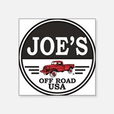 "joe_tee_shirts Square Sticker 3"" x 3"""
