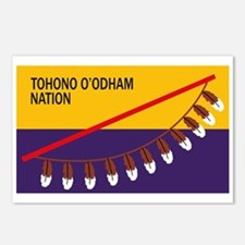 Tohono O'odham Flag Postcards (Package of 8)