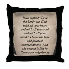 Command Throw Pillow