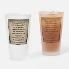 Command Drinking Glass