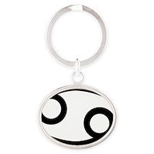 4cancer Oval Keychain