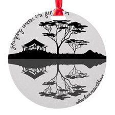 Glamping Under The Full Moon Ornament
