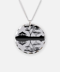 Glamping Under The Full Moon Necklace