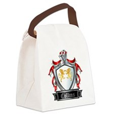 COLLINS COAT OF ARMS Canvas Lunch Bag