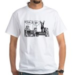 Bush/Coffin White T-Shirt