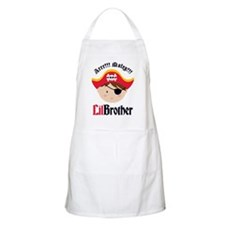 PirateLilBrotherBrown Apron