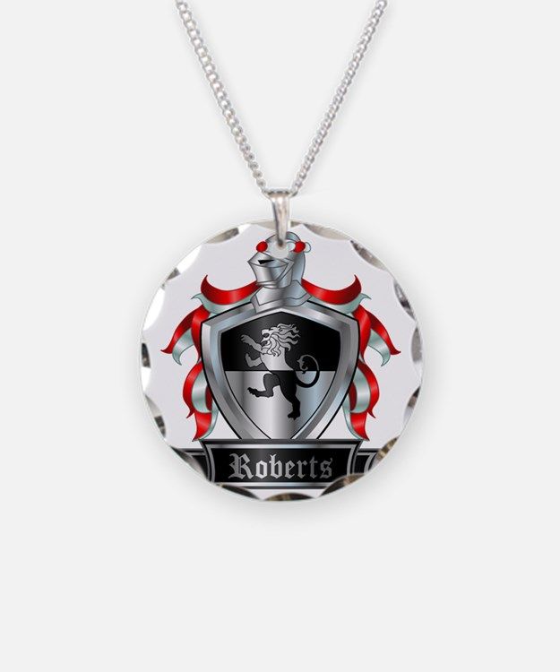 ROBERTS COAT OF ARMS Necklace