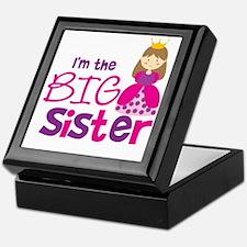 PrincessBigSisterBrownV2 Keepsake Box