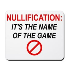 nullification-square-150 Mousepad