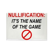 nullification-square-150 Rectangle Magnet
