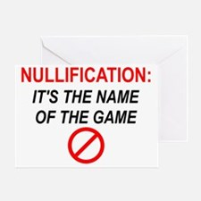 nullification-square-150 Greeting Card