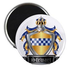 STEWART COAT OF ARMS Magnet