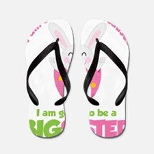 BunnyBigSisterToBe Flip Flops