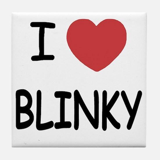 BLINKY Tile Coaster