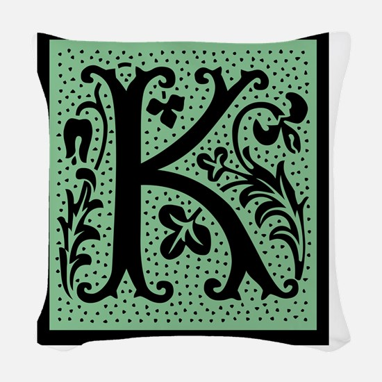 gr4k Woven Throw Pillow