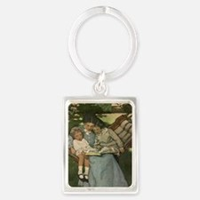 Once Upon a Time mug Portrait Keychain