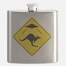 Kangaroo Abduction Flask