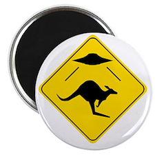 Kangaroo Abduction Magnet