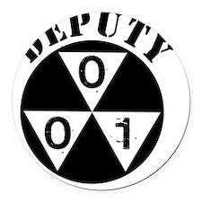 Deputy Round Car Magnet
