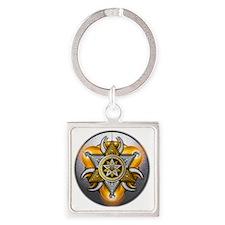 God and Goddess - 01 Square Keychain