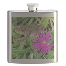 Leopard Frog Jigsaw Puzzle Flask
