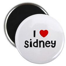 """I * Sidney 2.25"""" Magnet (10 pack)"""