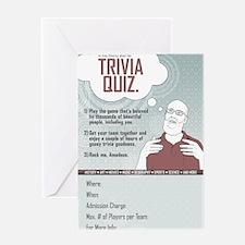 pub_quiz-poster_02 Greeting Card