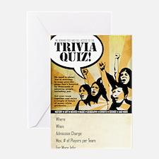 pub_quiz-poster_03 Greeting Card