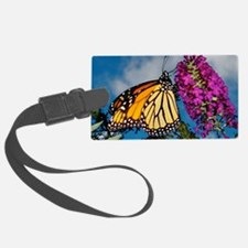 Monarch Butterfly Jigsaw Puzzle Luggage Tag