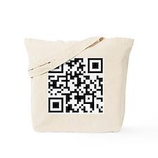 Stop-Looking-At-This-Shirt-QR-Code Tote Bag