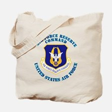 Air-Force-Reserve-Cmdwtxt Tote Bag