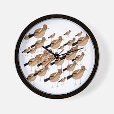 Flock of Doves Wall Clock