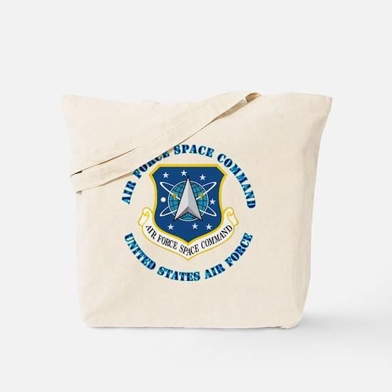 Air-Force-Space-Cmdwtxt Tote Bag