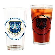Air-Force-Space-Cmdwtxt Drinking Glass