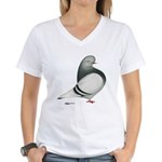 Silver Domestic Flight Women's V-Neck T-Shirt